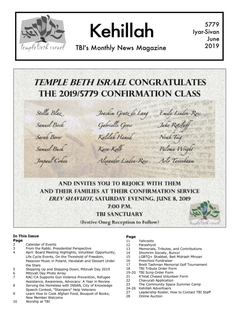 Home - Temple Beth Israel